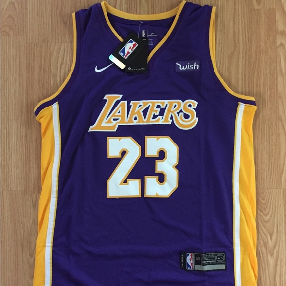 5f5d91929823 Nike Lebron James NBA Lakers Jersey Authentic